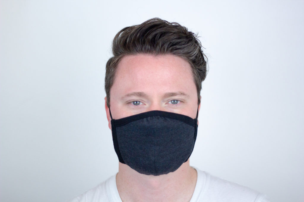 The Allmade Allmask in Space Black